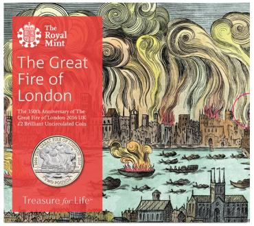 Great Britain, 2016, Great Fair of London, 2 Pounds