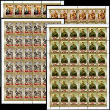 Russia, 2000, Victory at WW II, 4 sheets