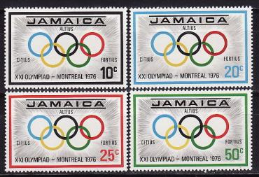 Jamaica, 1976 Montreal Olympic Games, 4v